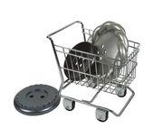 Zakupy dla elementów złącznych — Zdjęcie stockowe