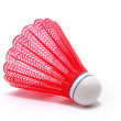 Red Badminton Shuttlecock (Birdie) — Stock Photo #5285622