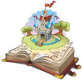 Magic world of tales — Stock Photo