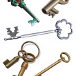 Old keys — Stock Photo #4461146