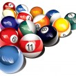 Billiard balls — Stock Photo #4509999