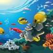 underwater world — Stock Photo