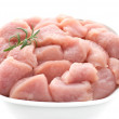 Raw turkey breast - Stock Photo