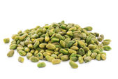 Shelled unsalted pistachios — Stock Photo