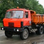 Dump truck — Stock Photo #4758340