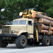 Timber lorry - Stock Photo