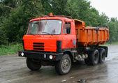 Dump truck — Stockfoto