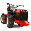 Stock Photo: Red tractor