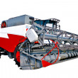 Stock Photo: Grain harvester combine