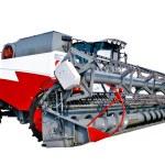 Grain harvester combine — Stock Photo