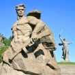 Warrior statue — Stock Photo