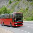 Stock Photo: Red bus