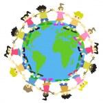 Постер, плакат: WORLD KIDS