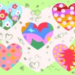 Royalty-Free Stock Vector Image: Hearts Background