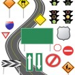 Traffic sign icon — Stock Vector
