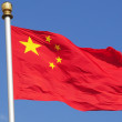 Chinese flag — Stock Photo #3963327