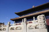 čínské stavební vzorek — Stock fotografie