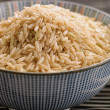 Bowl of rice - Stock Photo