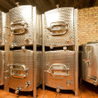 Aluminium tanks - Stockfoto