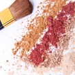 Makeup powder — Stock Photo