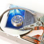 Hard drive internals — Stock Photo