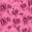 Heart shaped rose background - Stok fotoğraf