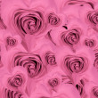 Heart shaped rose background - Stockfoto