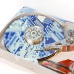 Hard drive internals — Stock Photo #5229350