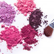 crushed eyeshadow — Stock Photo