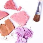 Crushed eyeshadow — Stock Photo