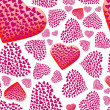 Valentine background - Foto Stock
