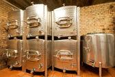 Réservoirs en aluminium — Photo