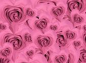 Fondo rosa en forma de corazón — Foto de Stock