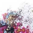 Crushed eyeshadow — Foto Stock