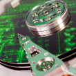 Hard drive internals — Stock Photo #5230037