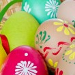 Painted easter eggs — Foto de Stock