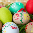 Painted easter eggs — Stock Photo #5293712