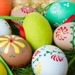 Painted easter eggs — Stock Photo #5293722