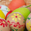 Painted easter eggs — Stock Photo #5293791