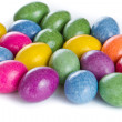 Easter eggs isolated - Stockfoto