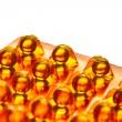 Oil capsules — Stock Photo