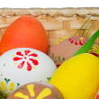 Painted easter eggs — Stock Photo #5295369