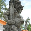 Statue of hindu deamon - Stock Photo
