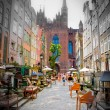 Historic city of Gdansk - Stock Photo