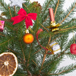 Christmas tree decorated — Stock Photo #5299940
