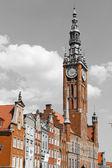 Starego miasta w gdańsku — Zdjęcie stockowe