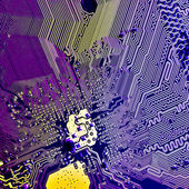 Abstract circuit board — Stock Photo