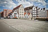 Ciudad histórica de gdansk — Foto de Stock