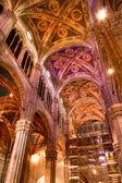 Italian church itnerior — Stock Photo