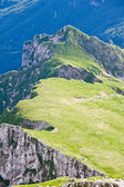 Julian alps in the summer, slovenia — Stock Photo